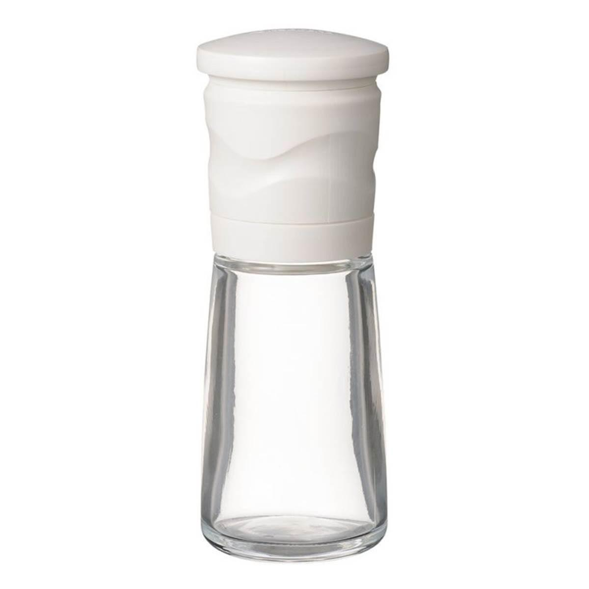 Salt glass grinder