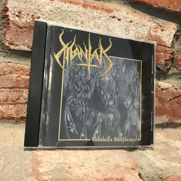 Mantak - Sabahell's Blasphemer CD