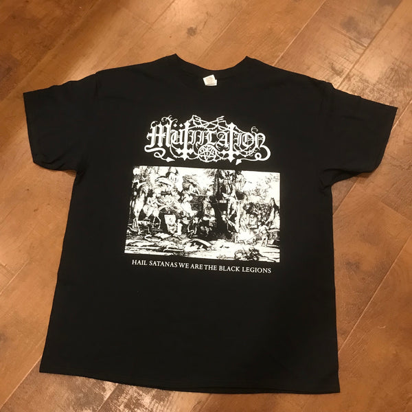 Mutiilation - Hail Satanas We Are The Black Legions TS