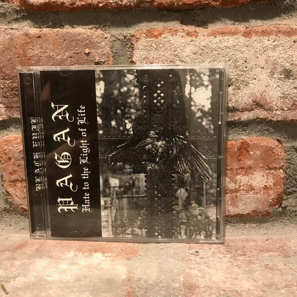 Pagan - Hate to the Light of Life CD