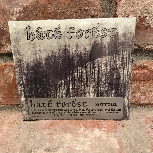 Hate Forest - Sorrow CD