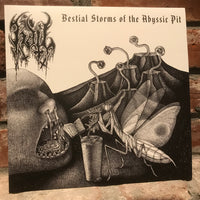 Hail - Bestial Storms of the Abyssic Pit 10""