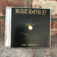 Bathory ‎– The Return CD