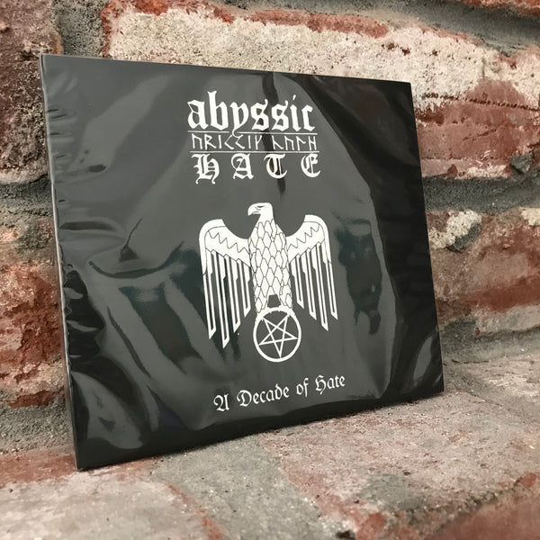Abyssic Hate ‎– A Decade of Hate CD