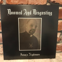 Doomed And Disgusting - Satans Nightmare LP