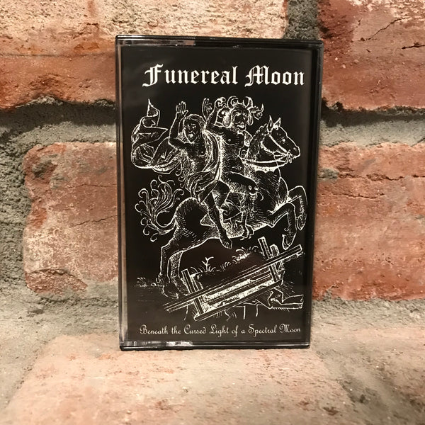 Funereal Moon - Beneath the Cursed Light of a Spectral Moon CS