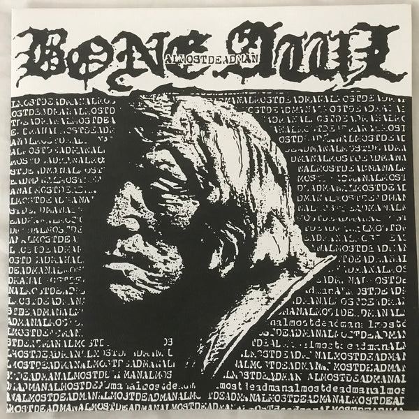 Bone Awl - Almost Dead Man (Silver Vinyl) LP