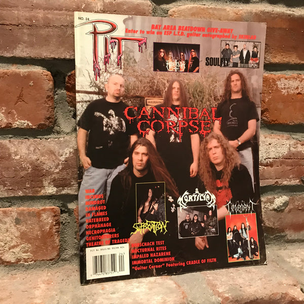 Pit #24 (1998) - Marduk, Cannibal Corpse, Suffocation, Mortician, Impaled Nazarene, Bethlehem, War, etc