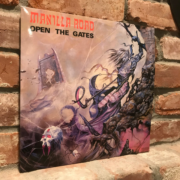 Manilla Road - Open The Gates LP