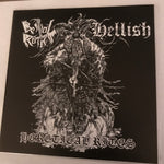 Bestial Raids/Hellish- Heretical Rites 7""