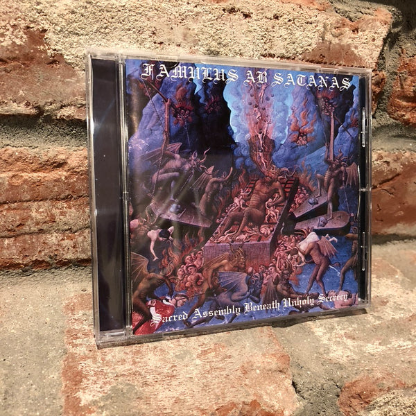 Famulus Ab Satanas - Sacred Assembly Beneath Unholy Secrecy CD