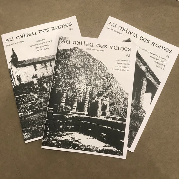 Au Milieu des Ruines - Bundle Deal (Issues 1,2 &3)