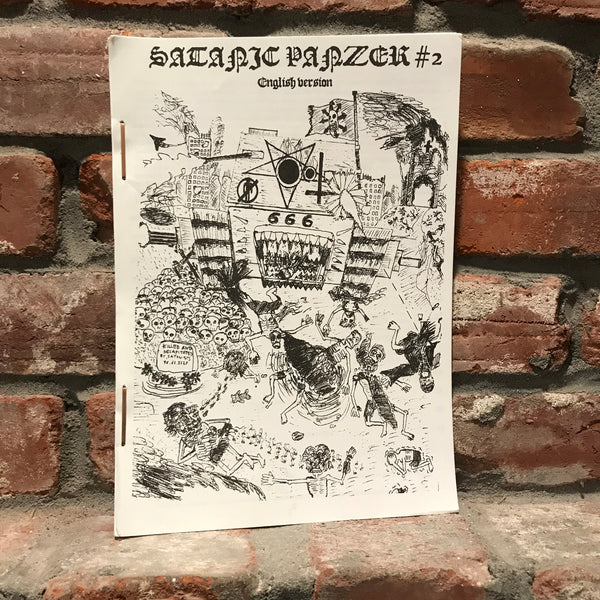 Satanic Panzer #3 English Version Zine