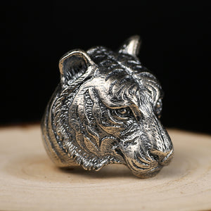 Tiger of the Wind 925 Sterling silver ring