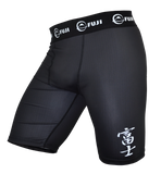 FUJI Sports Hybrid Grappling Shorts Black - BJJFAQ.com