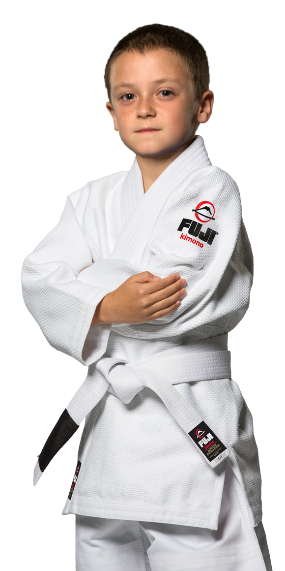 FUJI All Around Kids BJJ Gi White - BJJFAQ.com