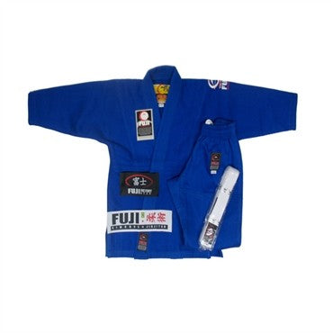 FUJI All Around Kids BJJ GI Blue - BJJFAQ.com