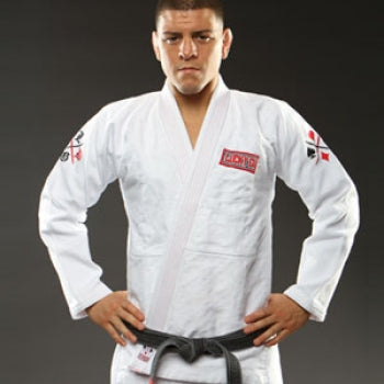 Limited Edition Diaz Brothers Lucky Gi White - BJJFAQ.com