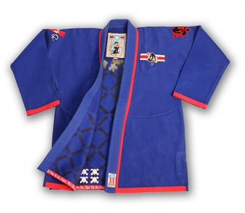 Lucky Gi Dog Fighter Gi Blue - BJJFAQ.com