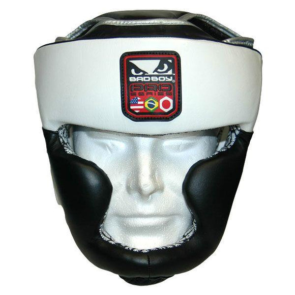 Bad Boy Pro Series Leather Headgear - BJJFAQ.com