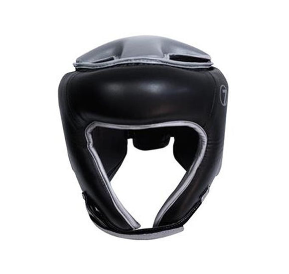Seven Boxing Headgear - Black - BJJFAQ.com