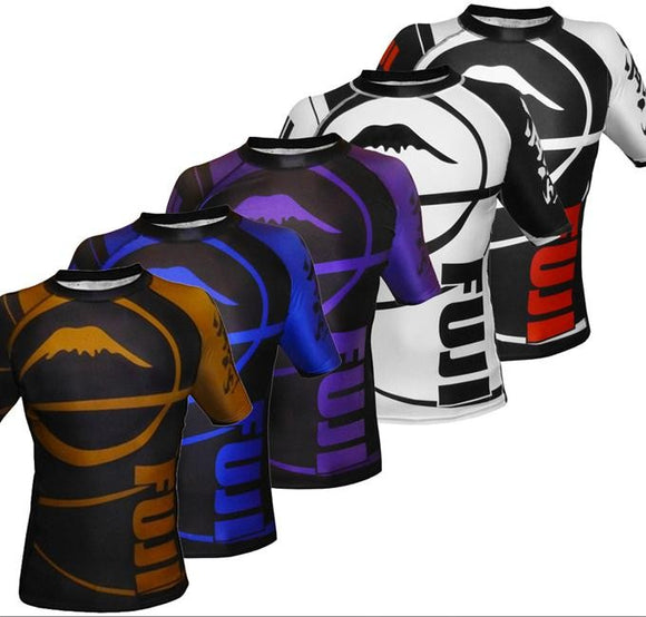 Fuji - BJJ Ranked Rashguards - Short Sleeve - BJJFAQ.com