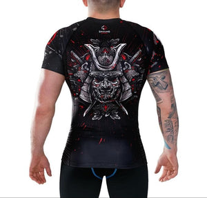 Ground Game - Samurai Grappling Rashguard - BJJFAQ.com