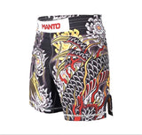 Manto - Dragon Pro Grappling Shorts - BJJFAQ.com
