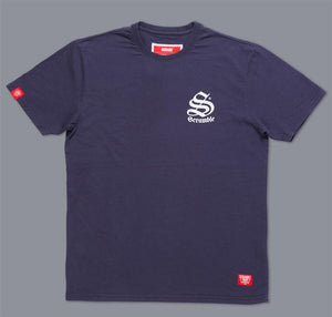 Scramble - Inner City T-shirt - Navy - BJJFAQ.com