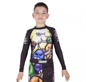 Tatami - Monster Kids Grappling Rashguard - BJJFAQ.com