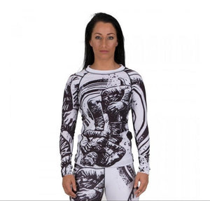 Tatami - Grapplers Collective - Triangle Women's Grappling Rashguard - BJJFAQ.com