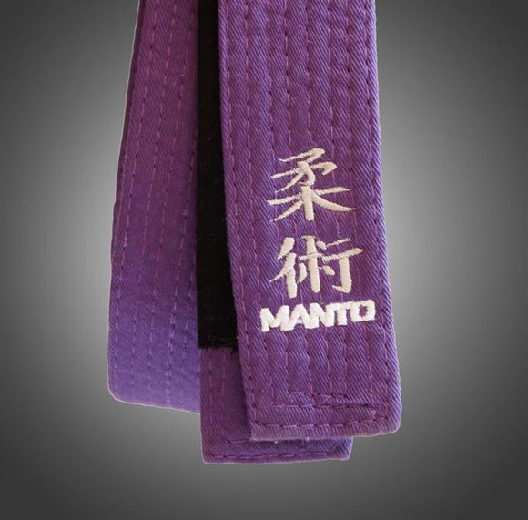 Manto - Embroidered BJJ Belts - BJJFAQ.com