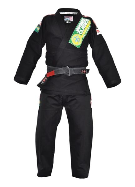 Isami - Black Gi With Patches - BJJFAQ.com
