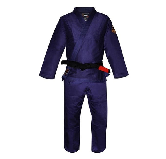 Fuji - Children's Navy Blue BJJ Gi - BJJFAQ.com