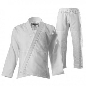 "93 Brand ""Standard Issue"" Men's BJJ Gi - White - BJJFAQ.com"