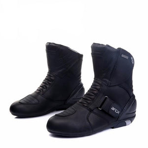 """Leather Racer"" Boots"