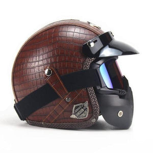"""The Leather Cruiser"" Helmet"