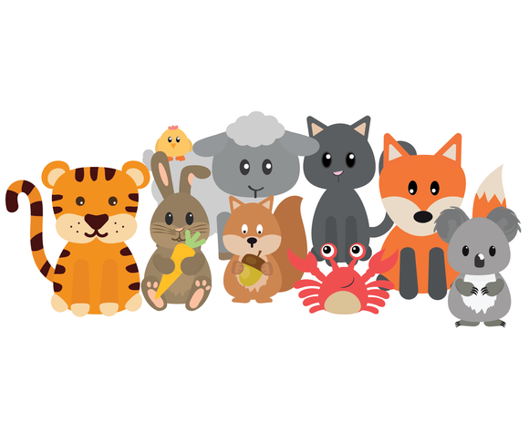 Animals | Static Cling Stickers
