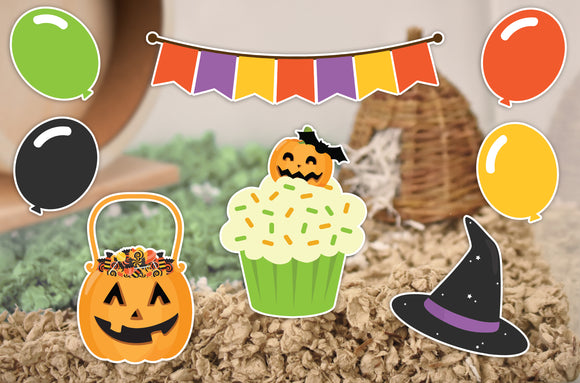 Trick or Treat | Static Cling | Pet Cage Theme