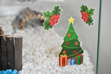 Festive Cheer | Static Cling | Pet Cage Theme