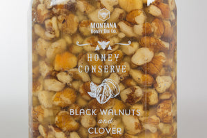 Black Walnuts and Clover Honey Conserve