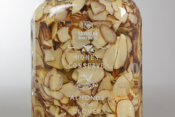 Almonds and Clover Honey Conserve