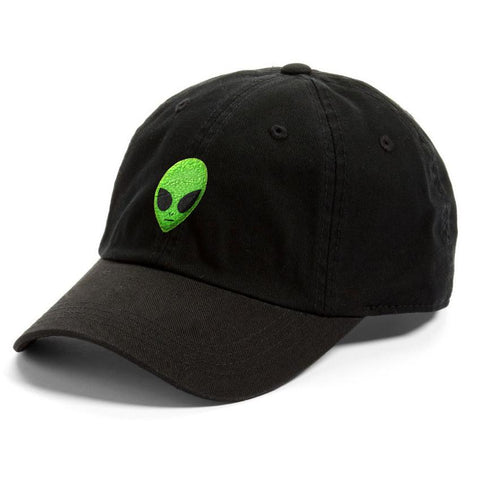Green Alien Dad Hat Cap
