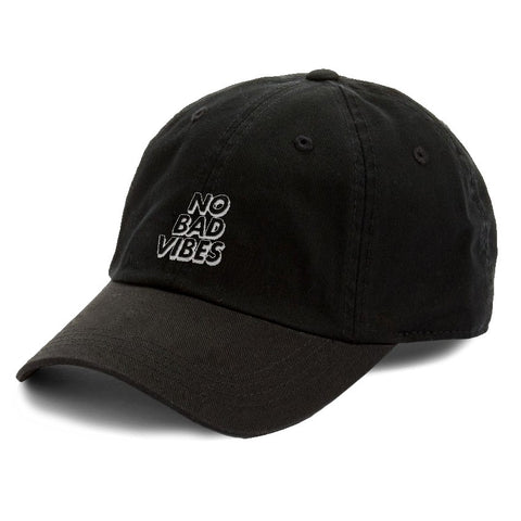 No Bad Vibes Dad Hat Cap