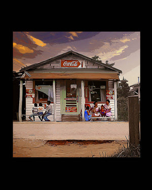 Country Store - Art Print