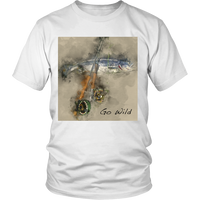 FLY FISHING- Short-Sleeve Unisex T-Shirt - Stockton Expressions-FISHING-SALMON