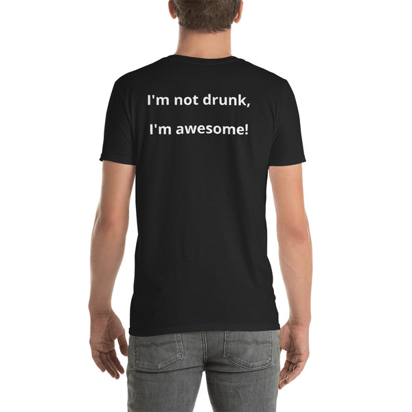 drunk, awesome, tee shirt