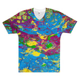 Loves Colors Men's V-Neck T-Shirt