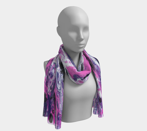Pink Light Scarf