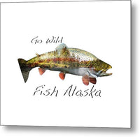 Rainbow Fish Creek - Metal Print